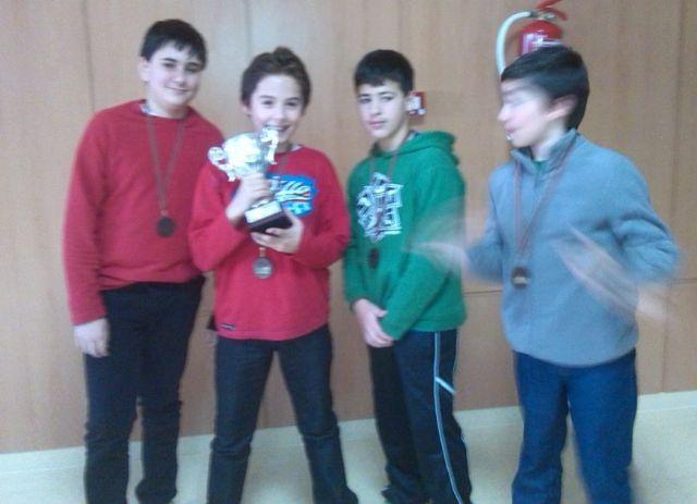 El colegio Santa Eulalia consiguió en tercer puesto en la final regional de ajedrez de Deporte Escolar, Foto 3