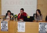 CCOO RM apoya la concentración que organiza ADICAE para el 1 de febrero contra el 'atraco eléctrico'