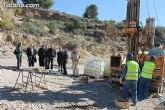 Se están realizando sondeos geológicos para determinar la mejor ubicación donde construir la presa de la rambla de Lébor