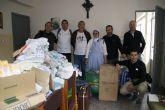 Anike Voluntarios entrega ropa y medicamentos a niños necesitados en Etiop�a
