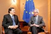 Valcárcel y Barroso remarcan que 'España ha superado las reformas económicas y ofrece muy buenas expectativas, como en exportaciones'