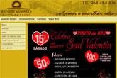 Celebra San Valent�n en Hotel Pinito de Oro