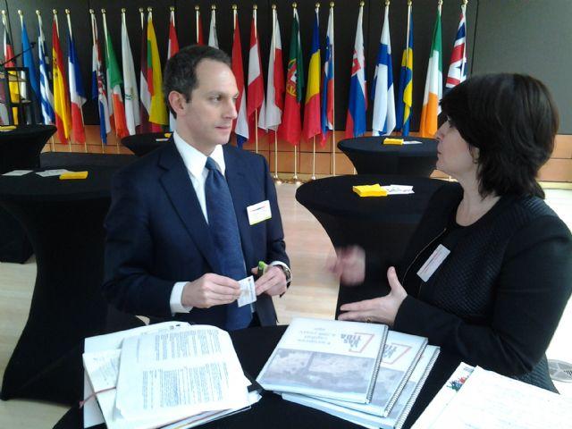 La alcaldesa presenta en el Foro Europeo Culture and Creativity el proyecto del Yacimiento Argárico La Bastida - 2, Foto 2