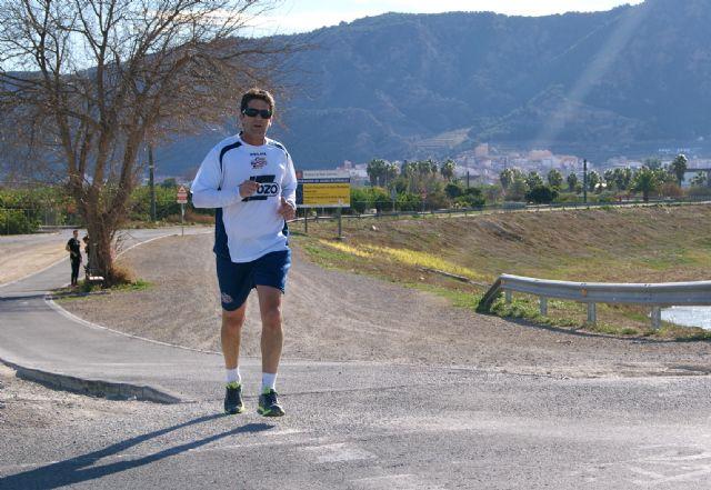 La plantilla de ElPozo Murcia realiza carrera continua por el Río Segura - 3, Foto 3