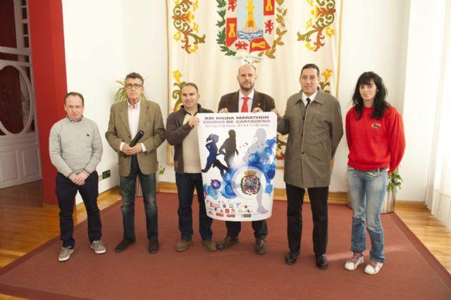 La XXI Media Marathon y el II 11 Km Ciudad de Cartagena se correrán el 2 de marzo - 1, Foto 1
