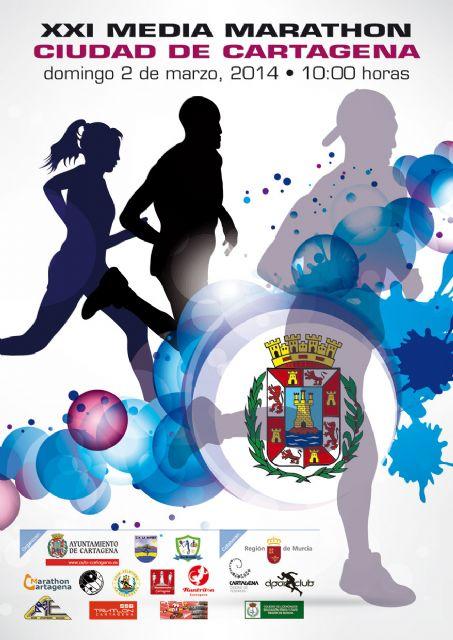 La XXI Media Marathon y el II 11 Km Ciudad de Cartagena se correrán el 2 de marzo - 4, Foto 4