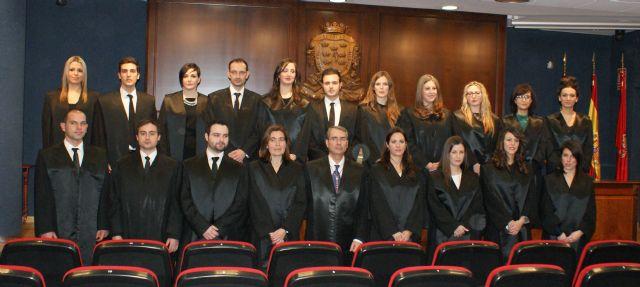 Jura de nuevos letrados con motivo de las fiestas patronales del Colegio de Abogados - 1, Foto 1