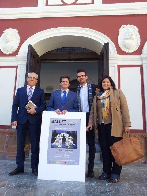 El Ballet Nacional de España actuará mañana en el Teatro Guerra - 2, Foto 2