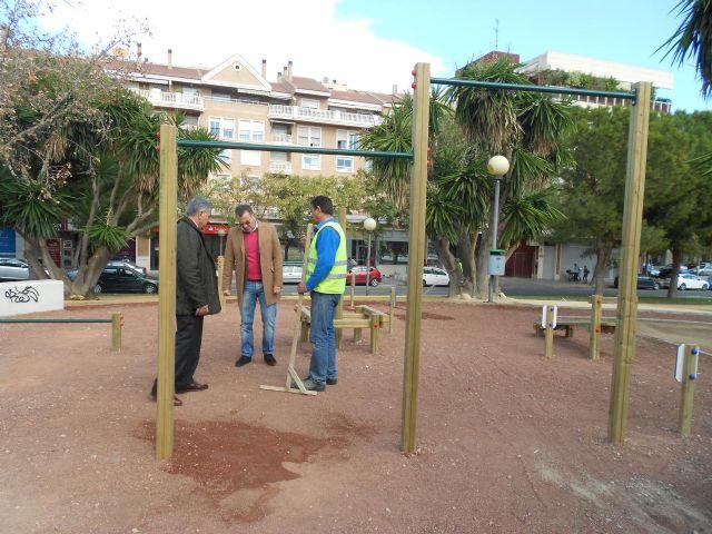 El Ayuntamiento completa la zona deportiva de Abenarabi con pistas de minibasket - 3, Foto 3