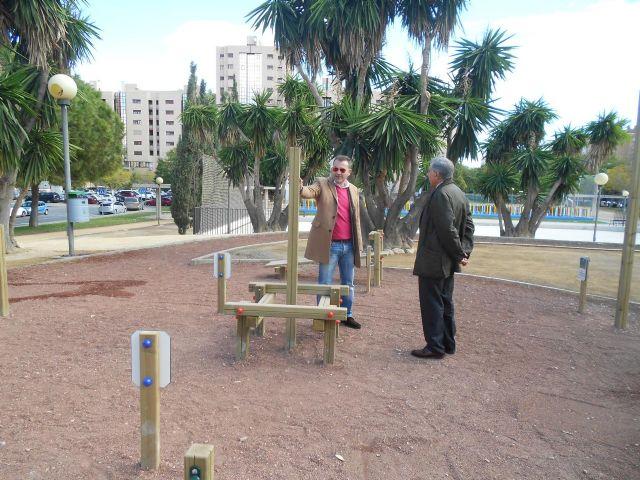 El Ayuntamiento completa la zona deportiva de Abenarabi con pistas de minibasket - 4, Foto 4