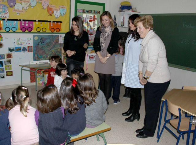 El colegio Basilio Sáez, pionero en la puesta en marcha del programa de inmersión ligüistica en educación Infantil - 1, Foto 1
