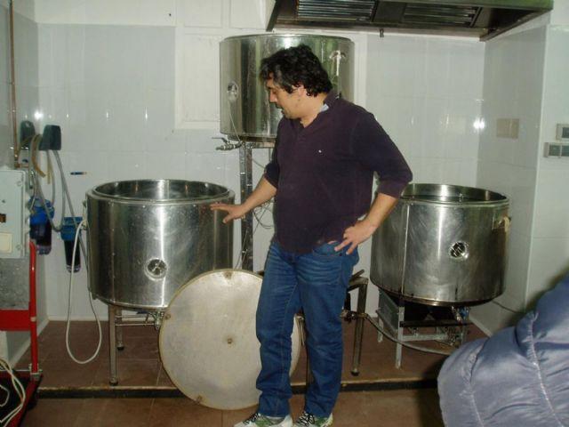 Los mayores de Cuatro Santos visitan Cervezas Icue - 3, Foto 3