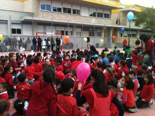 El Colegio José Robles cierra una semana de actividades de los centros educativos de Lorca dedicados al Día Mundial de la Paz y la No Violencia - 1, Foto 1