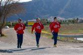 La plantilla de ElPozo Murcia realiza carrera continua por el Río Segura