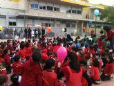 El Colegio José Robles cierra una semana de actividades de los centros educativos de Lorca dedicados al Día Mundial de la Paz y la No Violencia