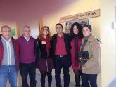 D´Genes visita DISMO, Asociación de Discapacitados Físicos de Molina de Segura y Vega Media