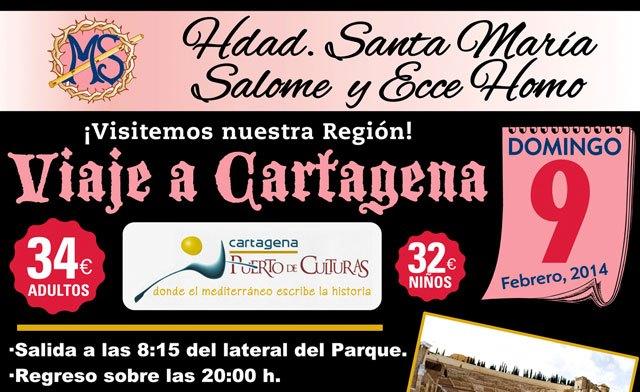 """La Hermandad de Santa María Salomé y Ecce Homo realizará un viaje a Cartagena """"Puerto de Culturas"""", Foto 1"""