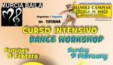 Taller intensivo de Bachata en Totana el próximo domingo 9 de febrero