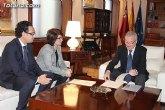 La alcaldesa de Totana se reúne mañana con Valcárcel para abordar algunos asuntos de interés general que afectan a este municipio