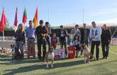 El IV Concurso Nacional Canino exhibe más de 400 ejemplares de más de 50 razas caninas en Puerto Lumbreras