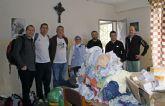 Miembros de la Asociación Deportiva de Puerto Lumbreras y voluntarios de la ONG Anike entregan más de 250 kg de ropa y medicamentos a niños de Etiopía