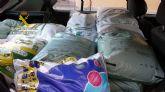 La Guardia Civil detiene a dos personas por la sustracción de más de media tonelada de abonos e insecticidas agrícolas