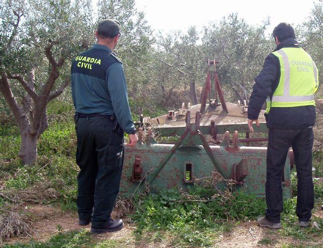 La Guardia Civil desmantela un grupo delictivo dedicado a la sustracción de aperos en fincas - 2, Foto 2