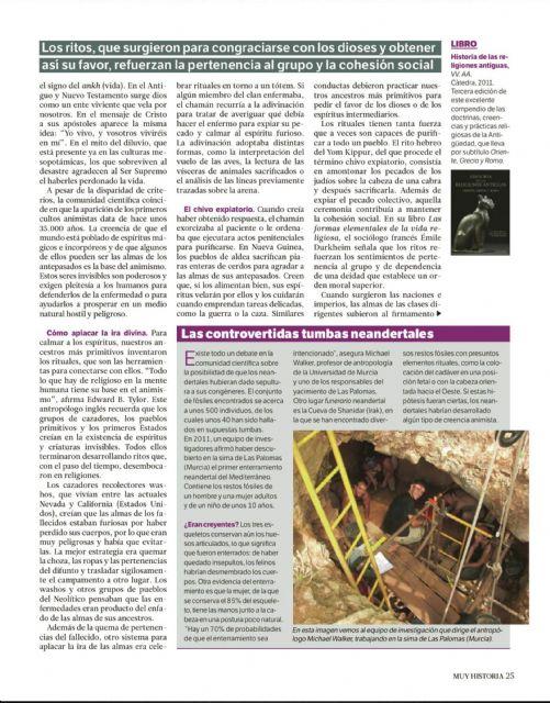 """Los enterramientos neandertales de la Sima de las Palomas mencionados en el último número de la revista """"Muy Historia"""" - 1, Foto 1"""