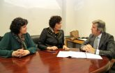 La Alcaldesa y el presidente de INCYDE ultiman los detalles para la construcción del nuevo Vivero de Empresas Creativas en Puerto Lumbreras