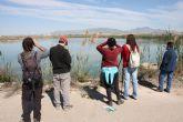 Los alumnos del Máster en Gestión de la Fauna Silvestre de la Universidad de Murcia visitan Las Lagunas de Campotéjar el viernes 7 de febrero