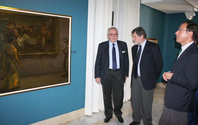 El Museo Ramón Gaya incrementa su patrimonio con la donación de tres óleos del pintor - 2, Foto 2