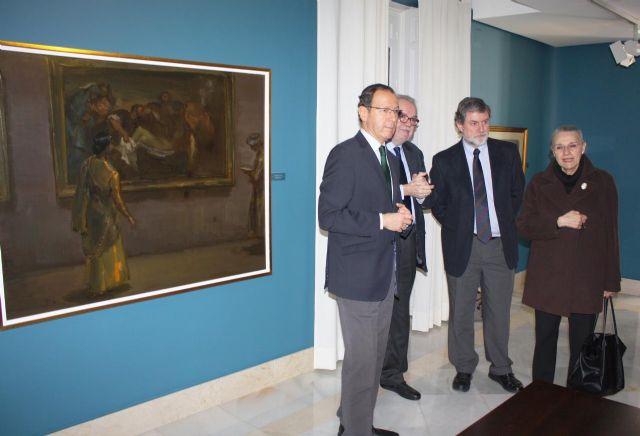 El Museo Ramón Gaya incrementa su patrimonio con la donación de tres óleos del pintor - 3, Foto 3