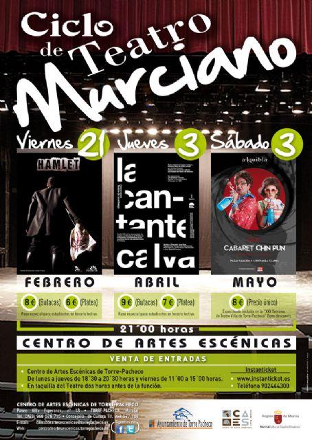 El Ayuntamiento de Torre-Pacheco fomenta el teatro regional con un ciclo de teatro murciano - 1, Foto 1