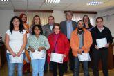 Siete personas participan en el curso de ´zapatero remendón´ impartido en Moratalla