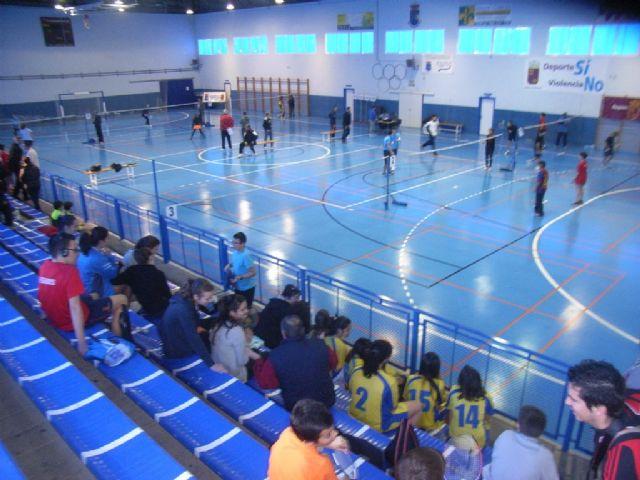 El Colegio la Milagrosa, tercer clasificado en la final regional de b�dminton de Deporte Escolar, Foto 5
