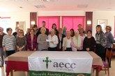 La Asociación Española de la lucha contra el cáncer de los Alcázares recibe 600 euros del grupo Patchwork