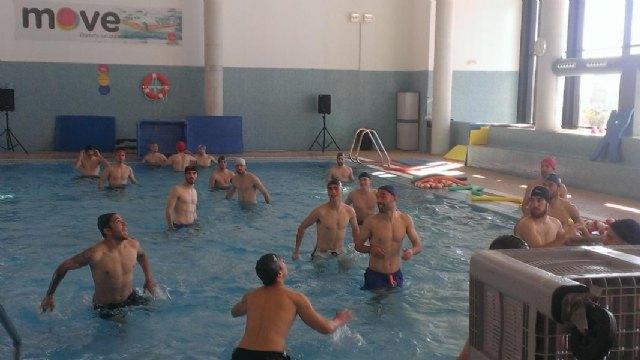 La Hoya-Lorca C.F. entrena en MOVE