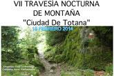Ya se conocen el lugar de salida y horarios de la VII Travesía nocturna de Montaña Ciudad de Totana