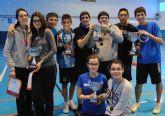 Éxito de los jóvenes deportistas pinatarenses en la Final Regional de Bádminton de Deporte Escolar