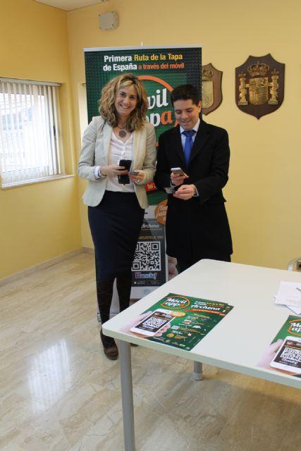 Archena organiza la I Ruta Móvil de la Tapa de España, una aplicación para poder localizar, votar u opinar sobre el establecimiento y/o la tapa - 1, Foto 1