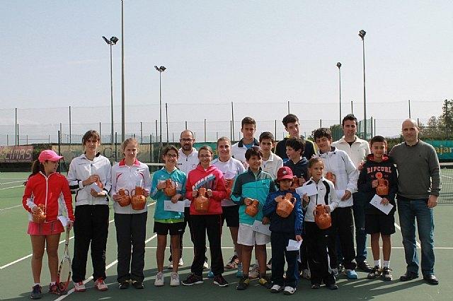 Finaliza el XIV Open Promesas de Tenis