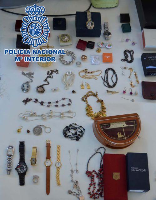 La Policía Nacional detiene a los integrantes de un grupo criminal dedicado al robo de viviendas en Molina de Segura - 1, Foto 1