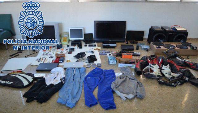 La Policía Nacional detiene a los integrantes de un grupo criminal dedicado al robo de viviendas en Molina de Segura - 2, Foto 2
