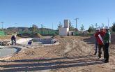 Continúan las obras en las piscinas municipales de verano de Puerto Lumbreras