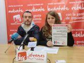 Jóvenes de IU-Verdes presentan un Plan de Empleo Juvenil