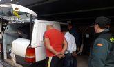 La Guardia Civil detiene a los tres integrantes de un grupo dedicado a la comisión de robos