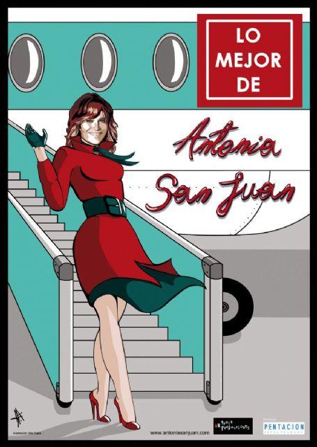 El Teatro Villa de Molina acoge la representación de LO MEJOR DE ANTONIA SAN JUAN el viernes 21 de febrero - 1, Foto 1