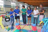 El Complejo Deportivo Municipal de Puerto Lumbreras incrementó en más de un 15% el número de usuarios durante el pasado año