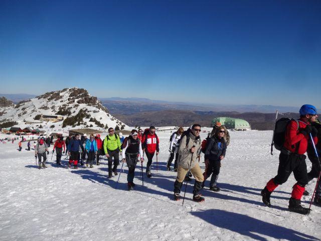 El Club Senderista de Totana realizó este fin de semana una ruta al Veleta en Sierra Nevada