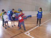 Los colegios Reina Sofia y Santa Eulalia participaron en la final regional de jugando al atletismo de Deporte Escolar